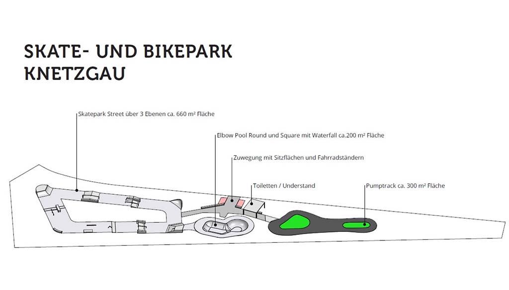 Skate – und Bikeanlage