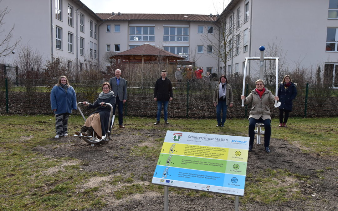 Bewegungspark an der Dreiberg-Schule in Knetzgau eröffnet