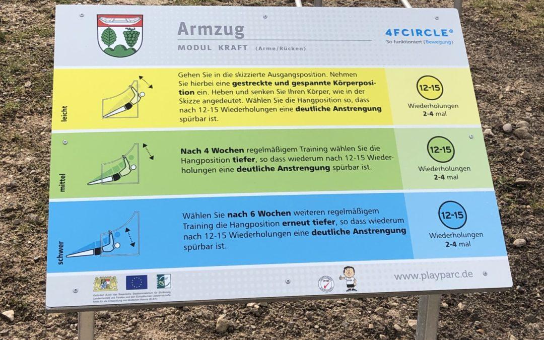 Bewegungspark an der Dreiberg-Schule