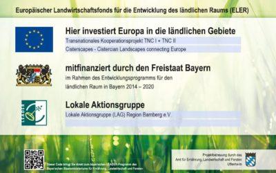 "Transnationales LEADER-Projekt ""Cisterscapes – Cistercian landscapes connecting Europe"""